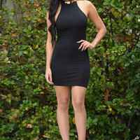 Genie in a Bottle Dress - Black