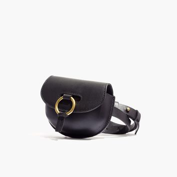 The Lisbon O-Ring saddlebag Pouch Belt : shopmadewell AllProducts | Madewell
