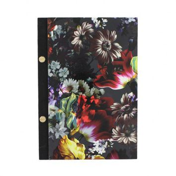 Bloom Noir slim lined A5 notebook - NEW - Stationery - New In
