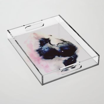 you were a daydream Acrylic Tray by duckyb