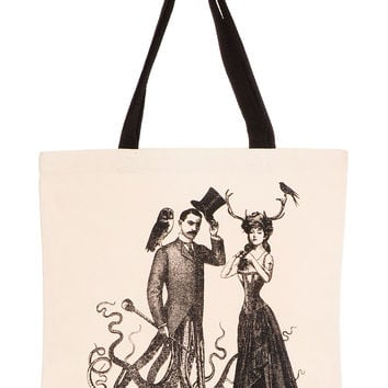Victorian Odd Couple Tote Bag