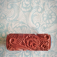 No. 7 Patterned Paint Roller from The Painted House