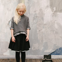 Vierra Rose Ines Sweater in Grey -SW2010