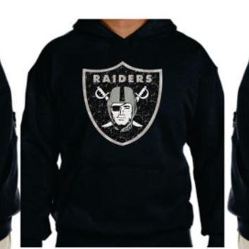 Raiders Glittery Unisex Hoodie , super shinny  sparkle wont flake  Oakland California Women  will love it!!  S-5XL sizes