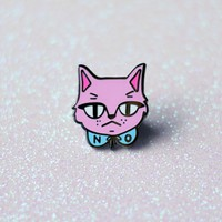 No Cat Enamel Pin