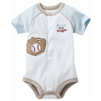 slugger Baby Boys Bodysuits newborn jumpsuit baby boy clothes month costume Toddler Body Suit Babywear