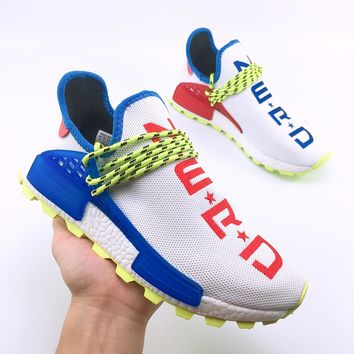 Adidas Human Race NMD Casual jogging shoes, men's leisure sports women's shoes