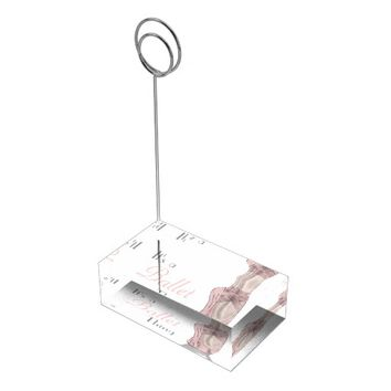 En Pointe Table Number Holder