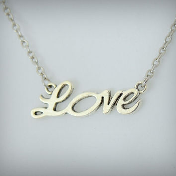 LOVE charm/pendant  (2 pieces included)