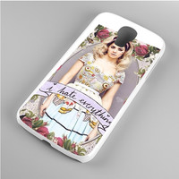 Marina And The Diamond I Hate Everything Samsung Galaxy S4 Case