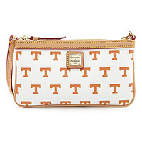 Dooney & Bourke University of Tennessee Large Slim Wristlet - White