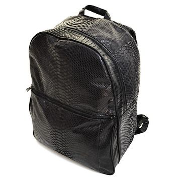 Dark 8 All Over Python Backpack