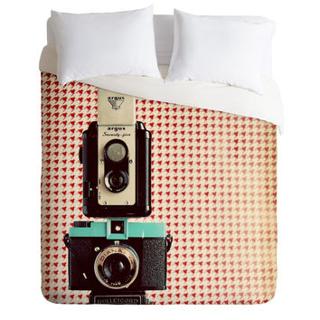 The Light Fantastic Dapper In Technicolor Duvet Cover