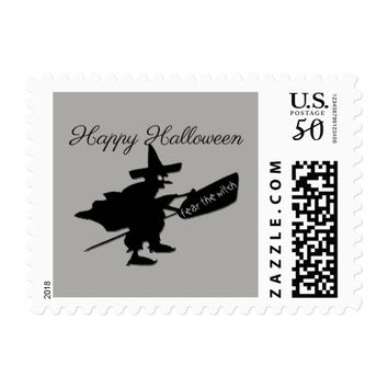 Black Witch Postage