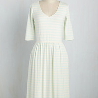 Practical Impact Dress in Mint | Mod Retro Vintage Dresses | ModCloth.com