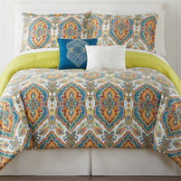 jcpenney - Ideology Alexis Sateen Comforter Set & Accessories - jcpenney