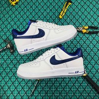 Nike Air Force 1 Low 07 Hardaway White Gum Blue - Best Online Sale