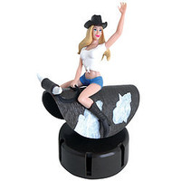 Female Dashboard Bull Rider - Default