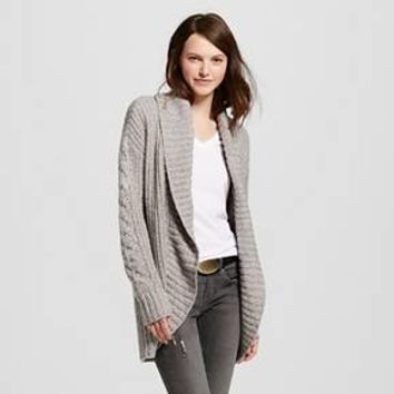 Women's Long Sleeve Shaker Cocoon Cardigan - Mossimo Supply Co.™ (Juniors')