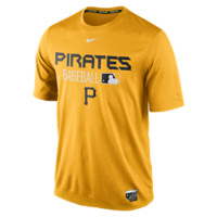 Nike Legend Team Issue (MLB Pirates) Men's Training Shirt Size Medium (Yellow)
