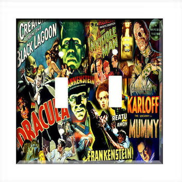 Light Switch Cover - Light Switch PlateClassic Monsters