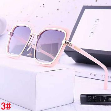 GUCCI Fashion Women Men Personality Shades Eyeglasses Glasses Sunglasses 3#