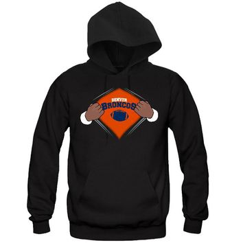 Super Pose Broncos Hoodie Sports Clothing