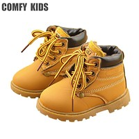 Leather Snow Boots Baby Clothing