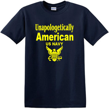 Unapologetically American Military Branch T-Shirt
