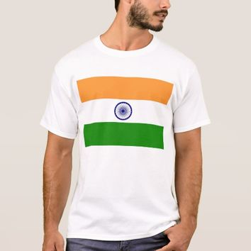 T Shirt with Flag of India