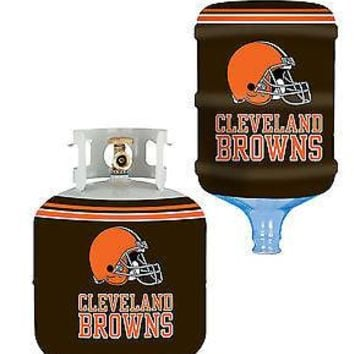 Cleveland Browns All In One Propane Tank /  5 Gallon Bottle Skin Cover