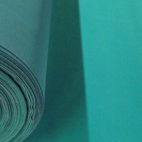 Discounted Solid Turquoise Flocked Velvet Fabric for Upholstery Craft Curtains Drapery Material Sold by The Yard 54 inch W - Commercial Sale