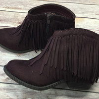 Get Fringy With It Booties