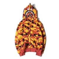Hoodies Winter Camouflage Print Men's Fashion Casual Hats Jacket [429895417892]