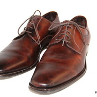 TO BOOT New York Adam Derrick Oxfords Brown Italy Mens Size 10.5 D
