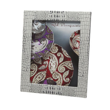 Crocodile Texture Two Tone Photo Frames