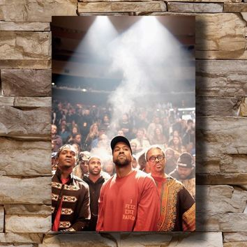 Kanye West The Life Of Pablo Grammy Rap Home Decoration Poster Wall Canvas Art 14x21 16x24 24x36inch Print G-2035