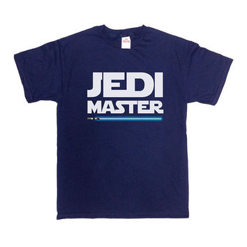 Jedi Master T-Shirt Fathers Day Gift Best Father Best Dad TShirt Gift For Dad Birthday Christmas Funny Cool Humor Mens Tee - SA212