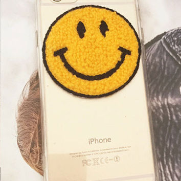 Clear Case Smiley Design iPhone Case
