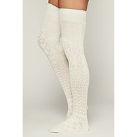 Transformed 3 Pack Thigh High Socks (Mushroom/Ivory/Black)