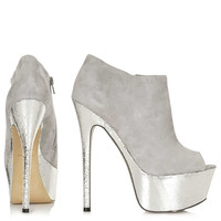 SANSA Peep Toe Shoe Boots - New In This Week  - New In