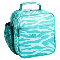 Gear-Up Pool Zebra Classic Lunch With Mesh Side Pocket