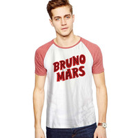 Bruno Mars Red For Short Raglan Sleeves T-shirt, Red Tees, Black Tees, Blue Tees