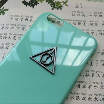 grey deathly hallow case,creative protective case for iPhone 6 iPhone 6 plus iPhone5/s, summer gift hard case,best friends gift
