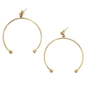 SOOP SOOP - Justine Clenquet Anna XL Earrings, Gold