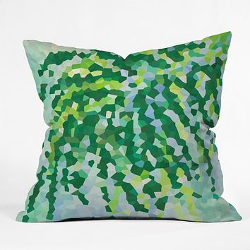 Rosie Brown Weeping Willow Outdoor Throw Pillow