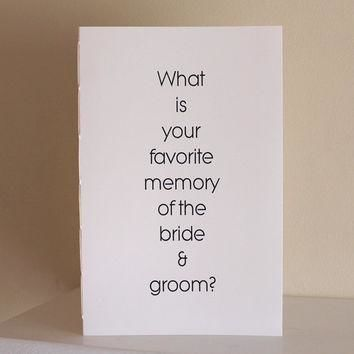 Wedding Question Books - Large Conversation Starters
