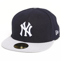 New York Yankees 2 Side Patch 5950 Fitted Hat