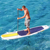 The Ku Hoe He'e Nalu Inflatable Board - Hammacher Schlemmer