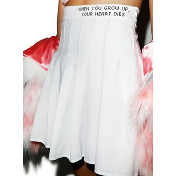 DON'T GROW UP IT'S A TRAP SKIRT
